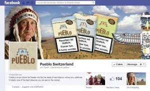 Page Facebook de Pueblo Switzerland  2